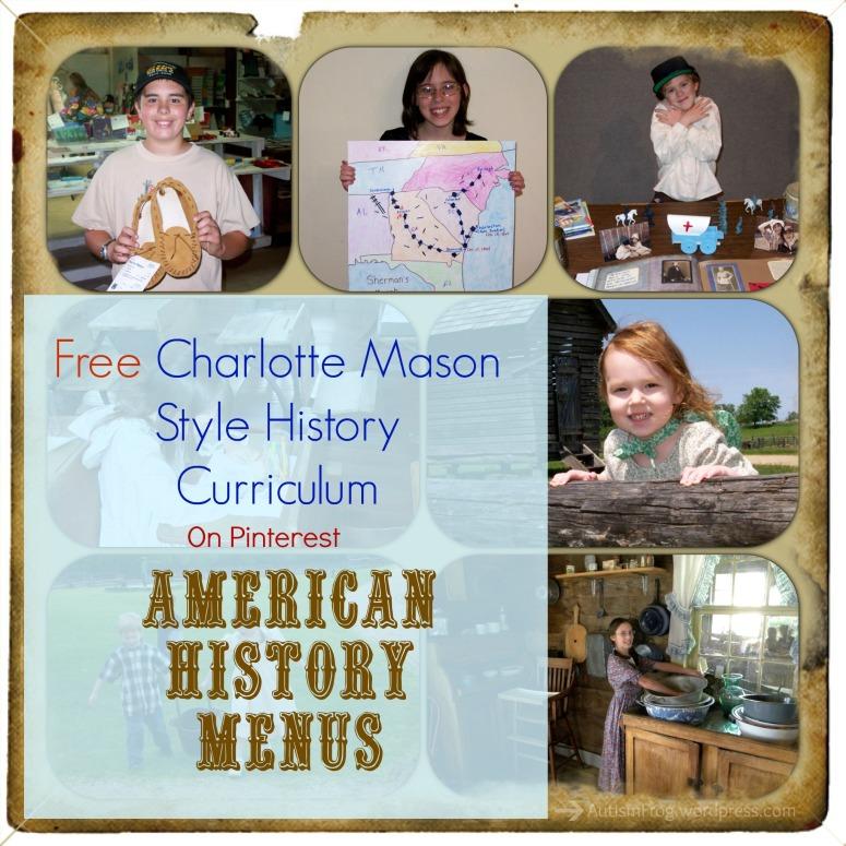 American History Menus